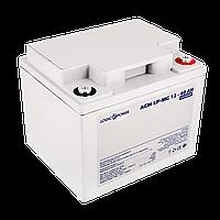 Аккумулятор мультигелевый AGM LogicPower LP-MG 12 - 40 AH SILVER