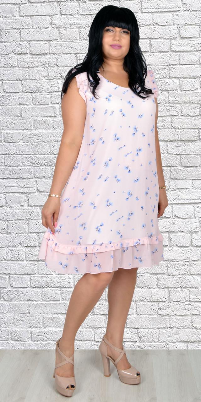 Легкое ботальное платье