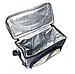 Сумка-холодильник с одним отделением 3 цвета 34*15*26 см. | Термосумка | Термобокс | Сумка термос 337В, фото 4