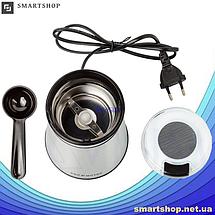 Кофемолка PROMOTEC PM-599 280W - мощная электроимпульсная кофемолка - измельчитель Промотек, фото 3