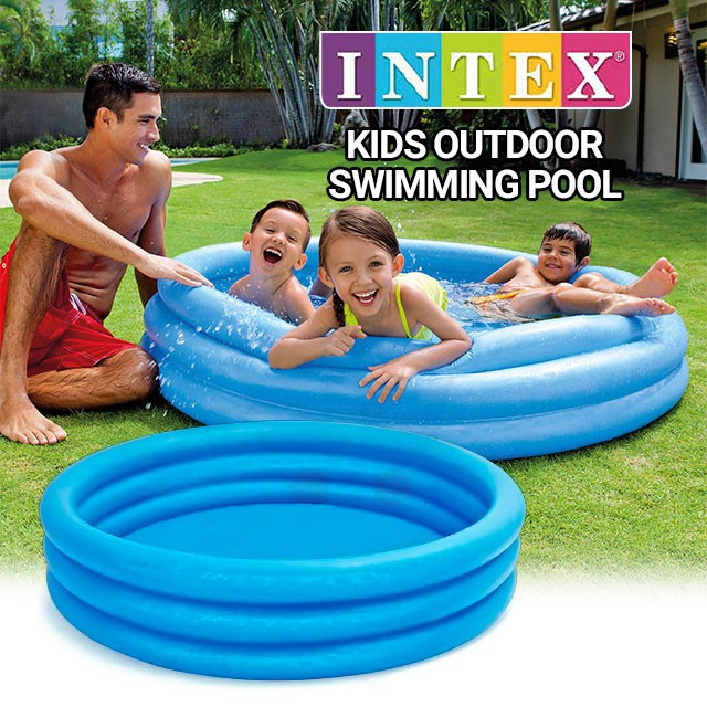 Детский надувной бассейн круглой формы  Intex 58426