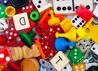 Настольные развивающие игры и творчество