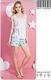 Пижама с шортами ,Vinetta, фото 2