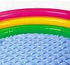Разноцветный детский надувной бассейн с надувным дном круглой формы  Intex 58924, фото 6