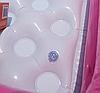 Разноцветный детский надувной бассейн с надувным дном квадратной формы  Intex 57100, фото 8