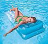 Пляжный одинарный надувной матрас для плаванья INTEX 188*71 см 58890, фото 3