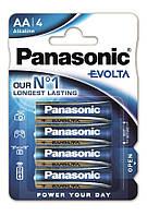 Батарейки Panasonic Evolta AA 4 шт