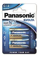 Батарейки Panasonic Evolta C 2 шт