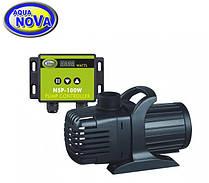 Насос для ставка AquaNova NSP-10000 л/год з регулятором потоку.