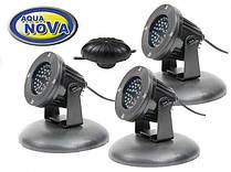 Світильник для ставка AquaNova NPL2 - LED3 (к-т 3 лампи, датчик день/ніч)