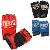 Перчатки для смешанных единоборств EVERLAST (рукавички для змішаних єдиноборств), фото 1