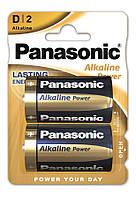 Батарейки Panasonic Alkaline Power D 2 шт