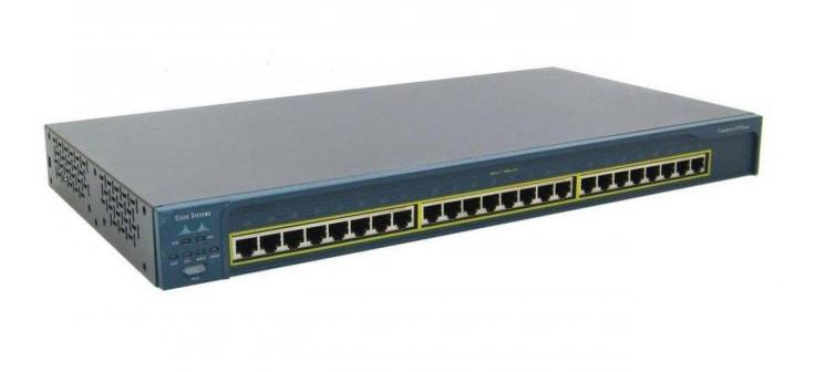 Б/У Коммутатор Cisco Catalyst 2950 Series (WS-C2950-24) Автономный стекируемый коммутатор
