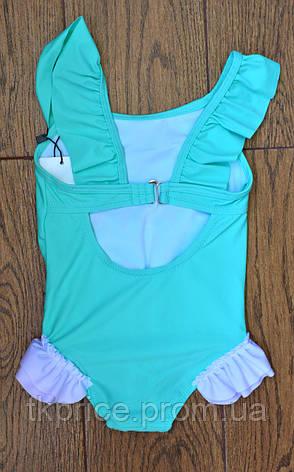 Модный слитный купальник для девочки 1337 с 28 по 36 размера, фото 2