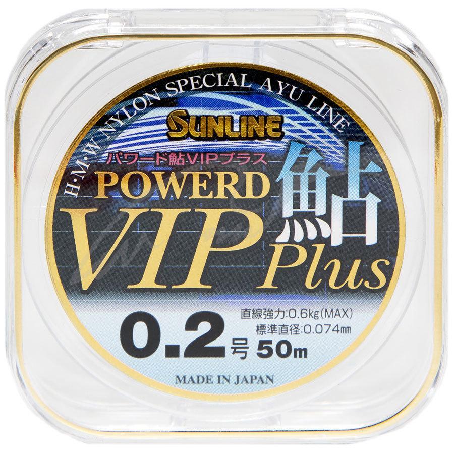 Леска Sunline Powerd Ayu Vip Plus 50м #0.25/0.083 мм 0,74 кг