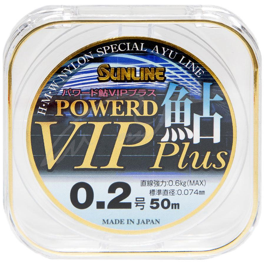 Леска Sunline Powerd Ayu Vip Plus 50м #0.175/0.069 мм 0,53 кг
