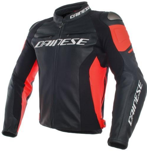 Мотокуртка кожаная Dainese Racing 3 Black/Red