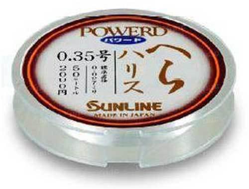 Леска Sunline POWERD HERA HARRIS 50м #0.35/0.097мм