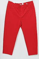 Турецкие женские красные брюки-джинсы больших размеров 48-62