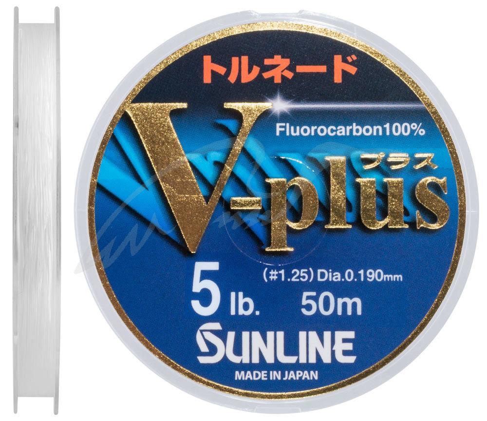 Флюорокарбон Sunline V-Plus 50m #1.25/0.19 mm 2.5 kg