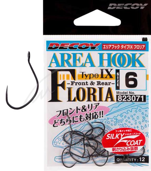 Крючок Decoy AH-IX FLORIA #6 (12 шт/уп)