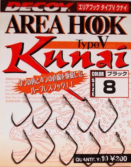 Гачок Decoy Area Hook V Kunai #6 (10шт/уп)