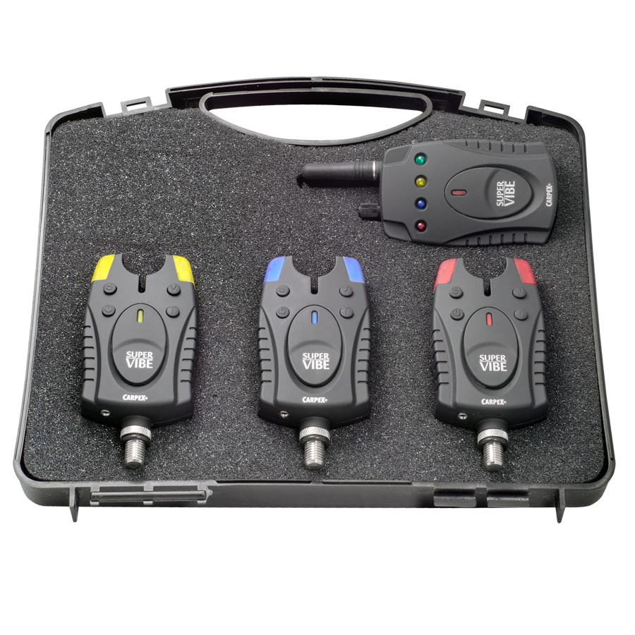 Набор сигнализаторов с пейджером 3+1 Robinson Super Vibe 88EK430 в кейсе