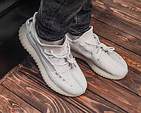 Мужские Кроссовки Adidas Yeezy Boost 350 V2 White (A+)