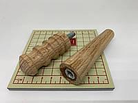 Деревянный сликер для полировки кожи Украина для дрели и ручного использования