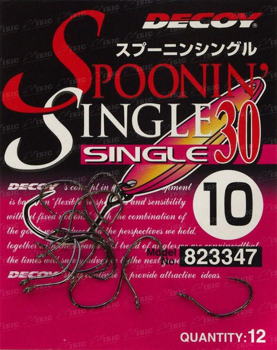 Крючок Decoy Single30 #6 (12 шт/уп)