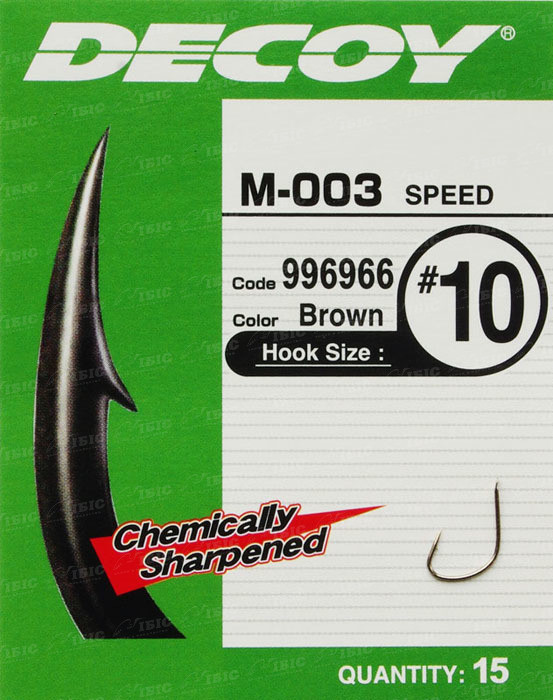 Гачок Decoy M-003 Speed #9 (15 шт/уп)