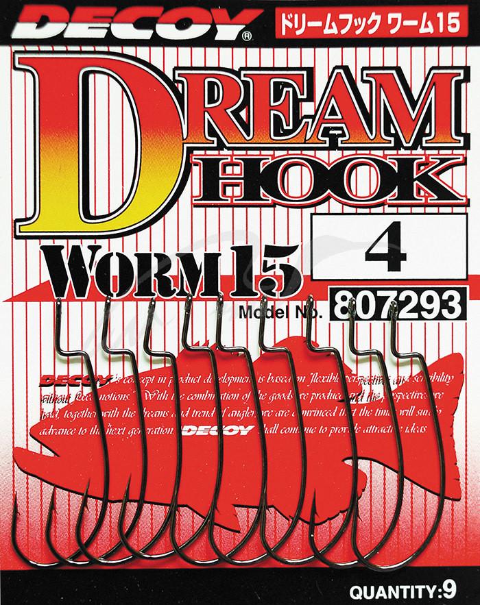 Крючок Decoy Worm15 Dream Hook #2 (9 шт/уп)