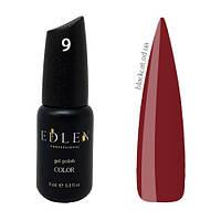 Гель лак вишневый Edlen Color №009 9 мл, фото 1