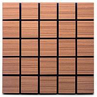 Акустическая панель Ecosound Tetras Rosewood 50x50см 73мм цвет коричневый, фото 1