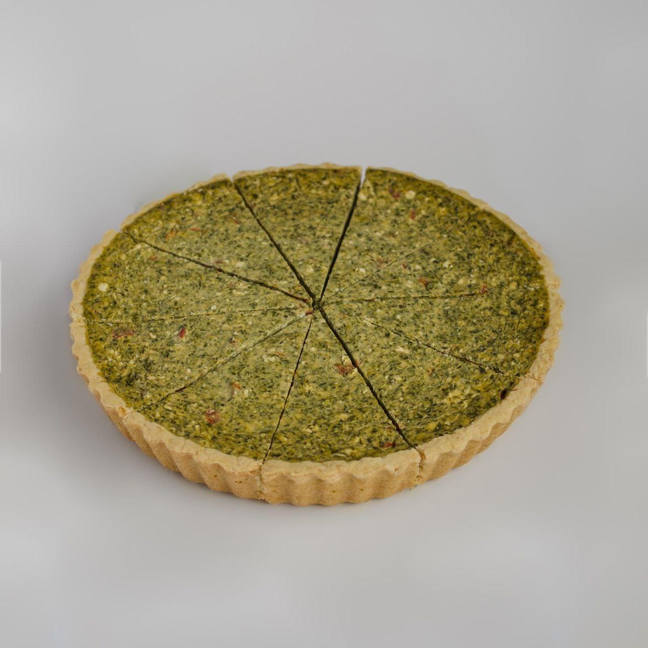 """Пиріг пісочний """"Кіш зі шпинатом"""" порційний, заморожений 0,800гр"""