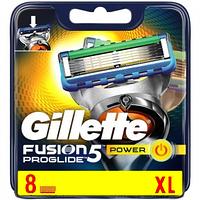 Сменные кассеты для бритья Gillette Fusion ProGlide Power 8 шт
