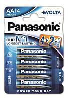 Батарейки Panasonic Evolta AA 6 шт