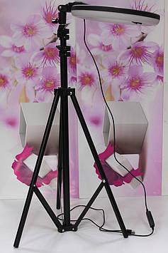 Кільцева лампа 26 см на штативі 210см для блогера, фотографа, макіяжу фото товарів