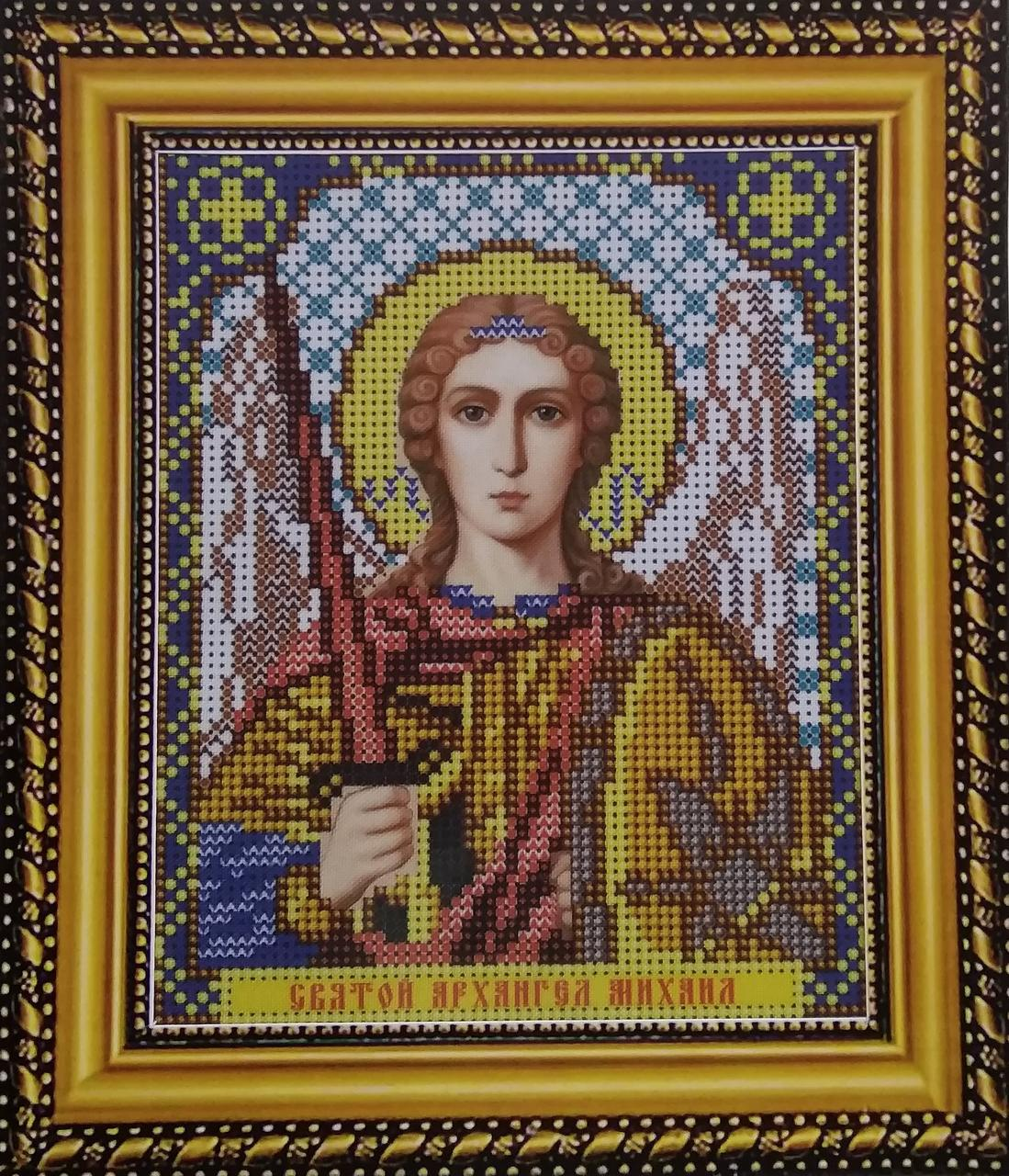 Набор для вышивки бисером ArtWork икона Святой Архангел Михаил VIA 5084