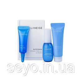 Мини-набор средств для интенсивного увлажнения кожи Laneige Water Bank Moisture Kit