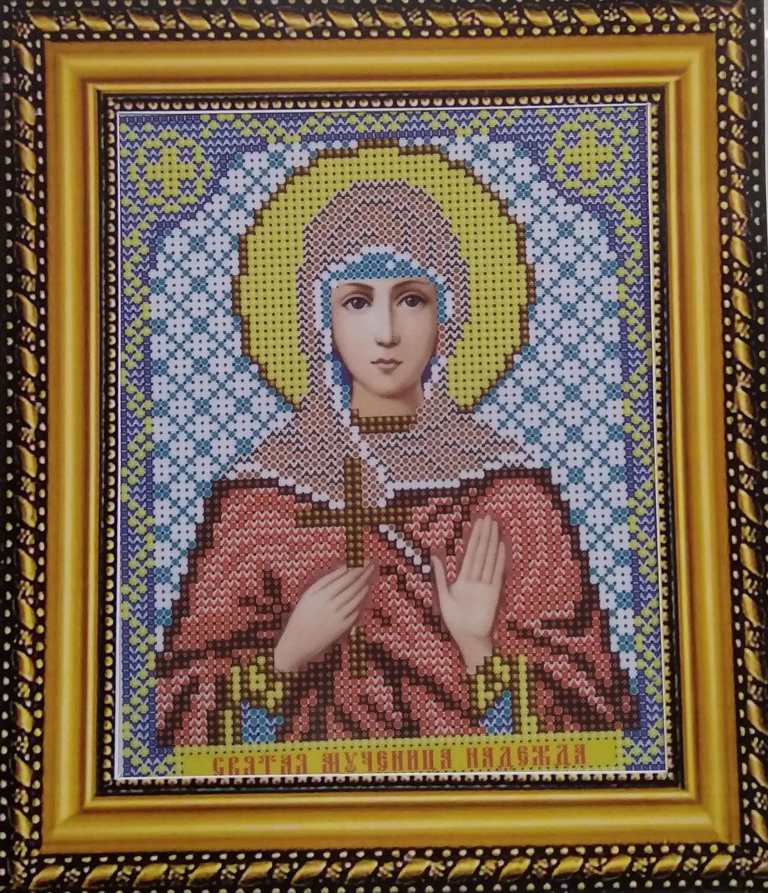 Набор для вышивки бисером ArtWork икона Святая Мученица Надежда VIA 5085