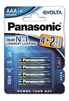 Батарейки Panasonic Evolta AАA 6 шт