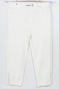 Турецкие женские летние белые брюки больших размеров 56-66