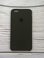 """Чехол Silicon iPhone 6 Plus - """"Темная олива №34"""""""