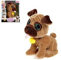 """Интерактивная говорящая собачка игрушка """"Умный питомец"""" для детей (Коричневая)"""