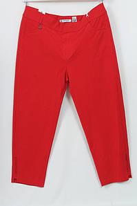 Турецкие женские летние красные брюки больших размеров 48-64