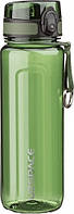 Пляшка для води UZSPACE U-type 6019 750 мл, зелена, фото 1