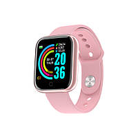 Фитнес браслет Smart Band MI (Розовый), фото 1