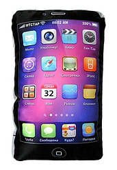 Подушка-Iphone Black