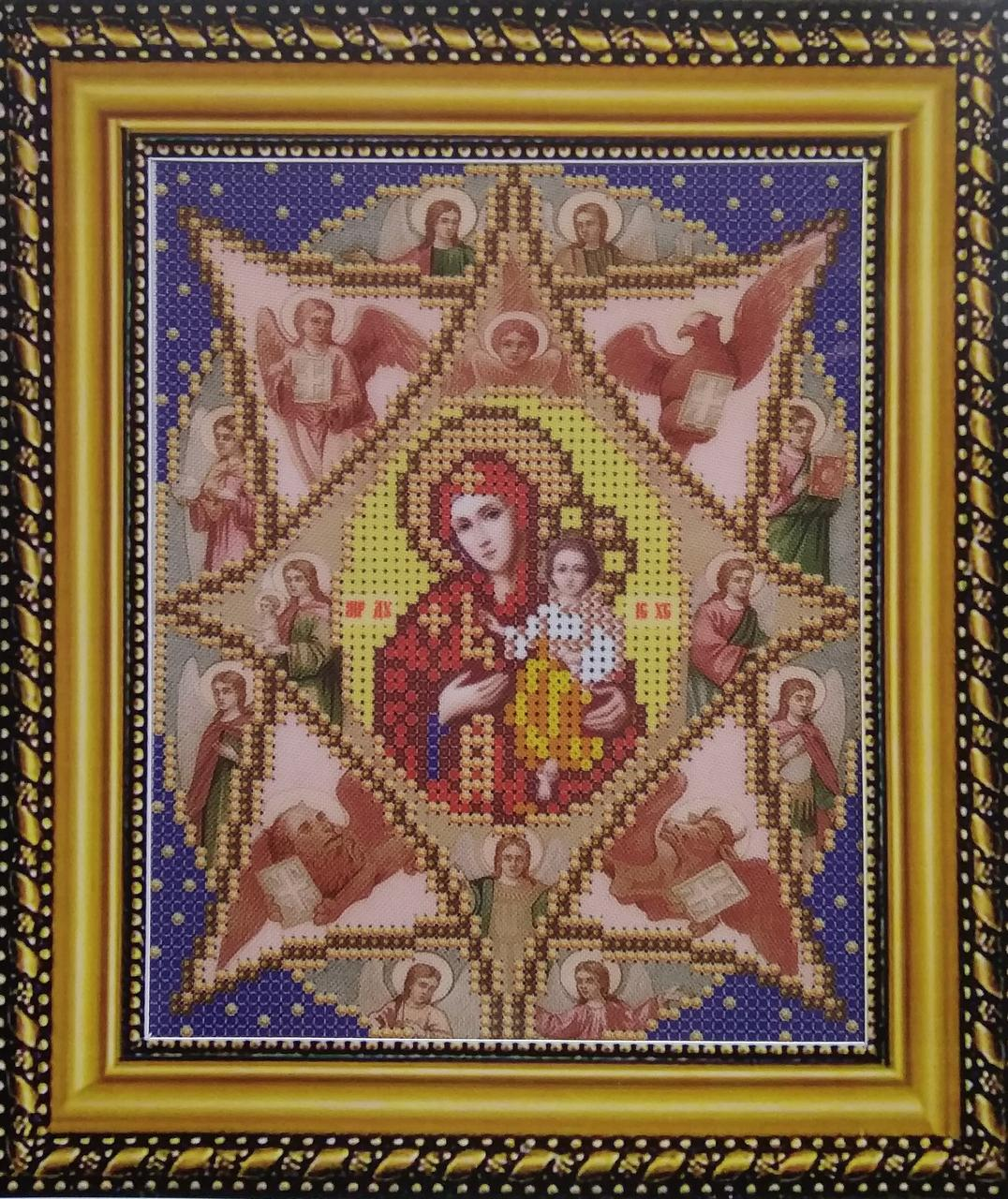 Набор для вышивки бисером ArtWork икона Неопалимая Купина Образ Пресвятой Богородицы VIA 5011